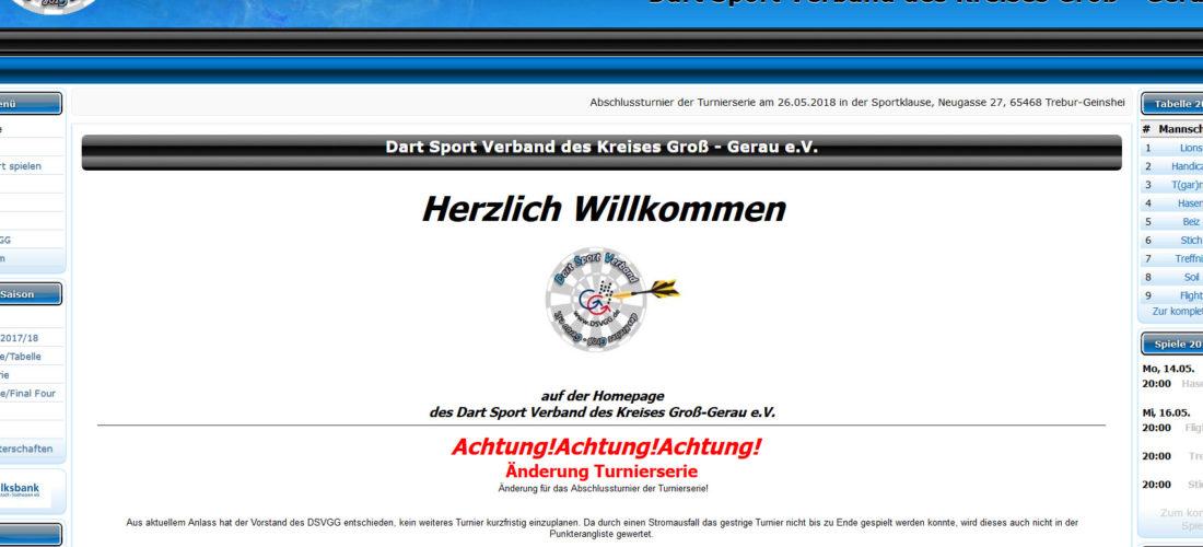 Dartsportverband Groß-Gerau